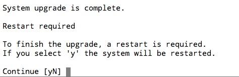 Mise à jour de Ubuntu vers 18.04 LTS est finie