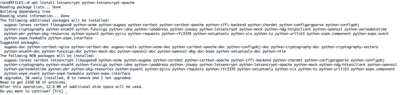 Configuration de SSL pour Nextcloud avec Let's Encrypt.