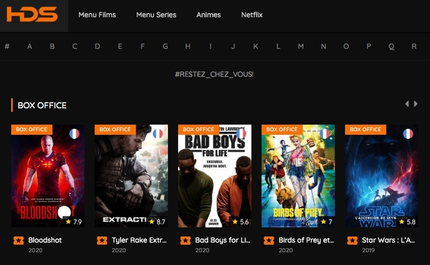 Regardez en streaming vos films et séries sur HDS Streaming. Vivez votre passion du streaming et de la meilleure qualité possible !