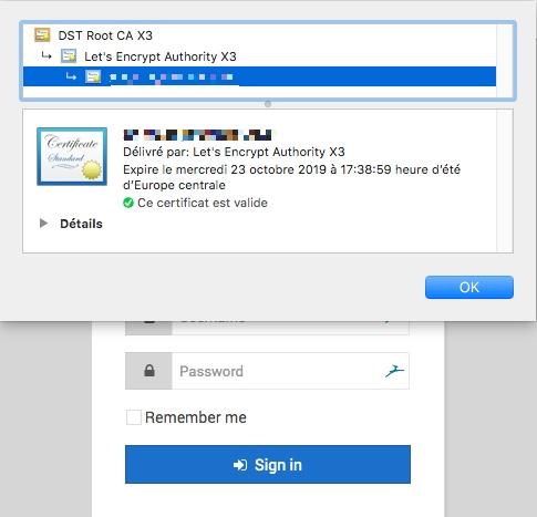 Obtenir un certificat Let's Encrypt pour Webmin