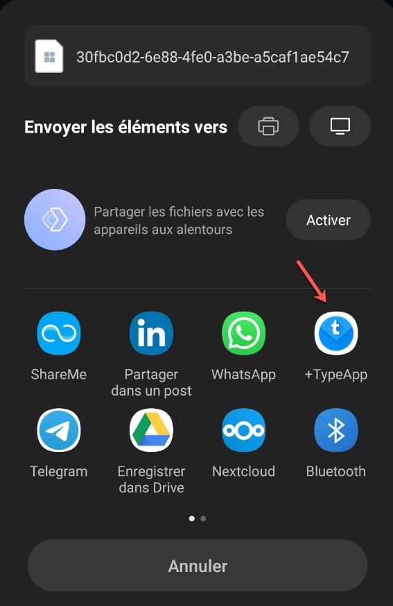 Utiliser l'email pour transférer vos discussions WhatsApp.