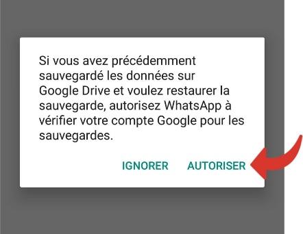 Restaurer la sauvegarde des discussions WhatsApp sur votre iPhone