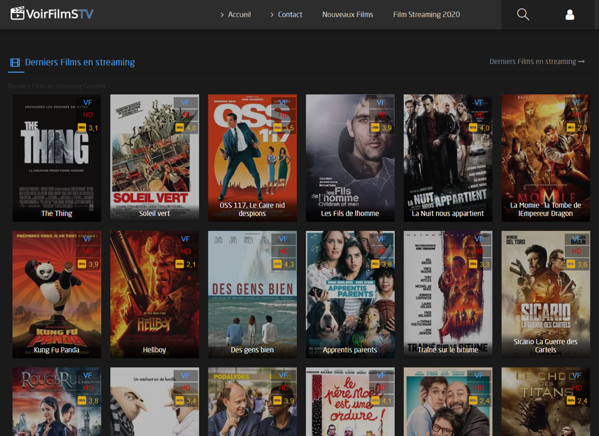 Visionner des film en streaming sur voirfilmstv.org
