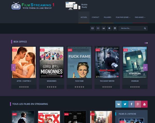 Site de streaming vidéo filmstreaming-1.net