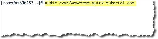 configurer des Virtual Hosts sur CentOS.