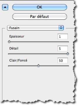 Appliquer le filtre Fusain à une photo avec Photoshop.