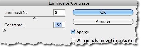 Modifier la luminosité et le contraste d'une photo avec Photoshop