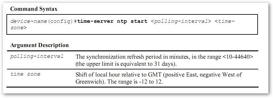 Ajouter un intervalle de mise à jour et un fuseau horaire pour une synchronisation NTP sur un T-Marc 250 de Telco