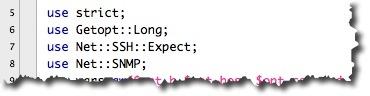 Utilisation de modules CPAN dans un script PERL