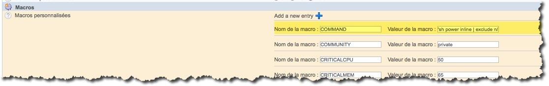 Ajouter des macros dans une commande Centreon pour faciliter l'administration de votre supervision