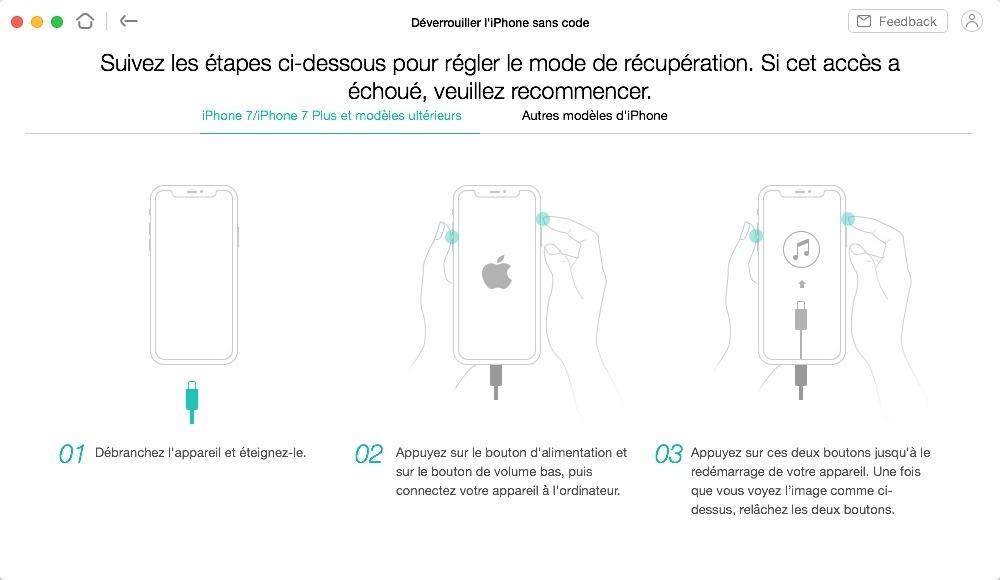 Comment passer votre iPhone en mode récupération avec AnyUnlock