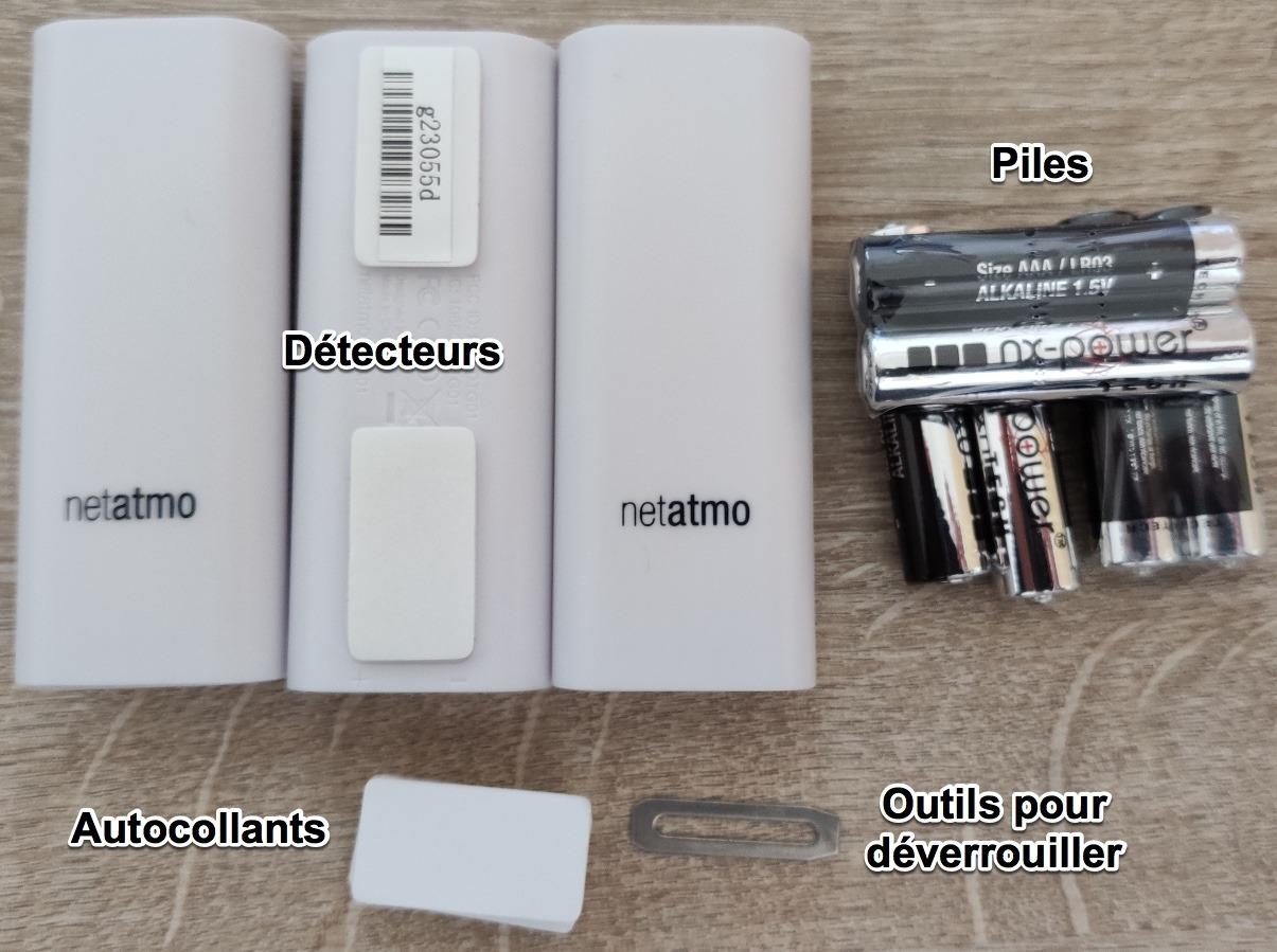 détecteurs d'ouverture Intelligents de Netatmo