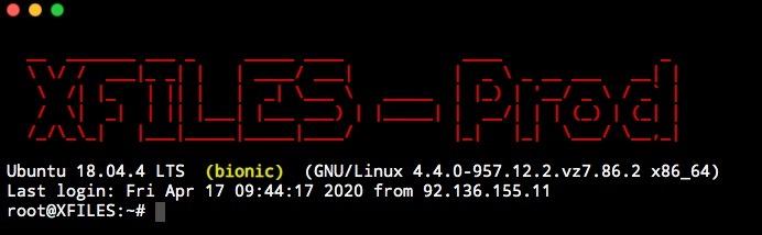 exemple de MOTD pour vos serveurs Linux