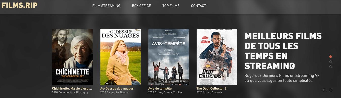 Regardez en streaming des séries et des films gratuits sur FimRIP. Vivez votre passion du streaming gratuitement et de la meilleure qualité possible !