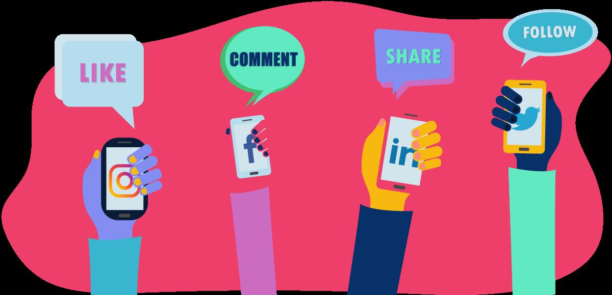 À quelle fréquence nous utilisons les médias sociaux ?