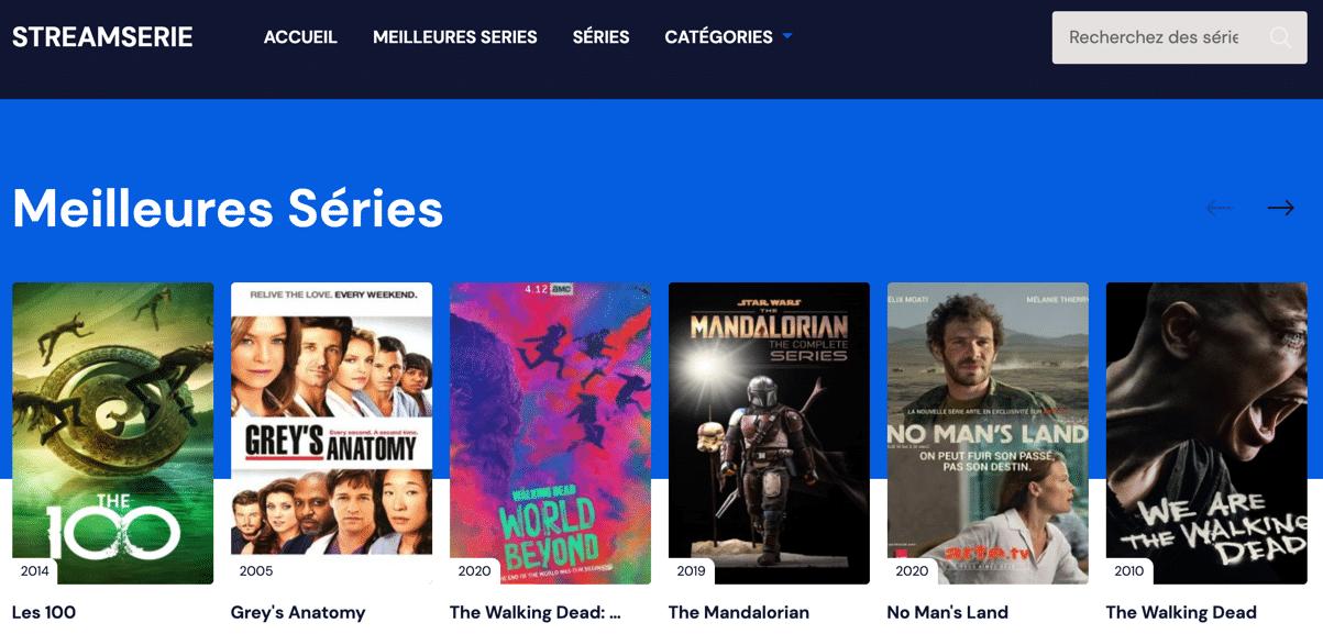 StreamSerie est un site de films de streaming qui vous permet de regarder des films sur internet sans les télécharger et sans attente.