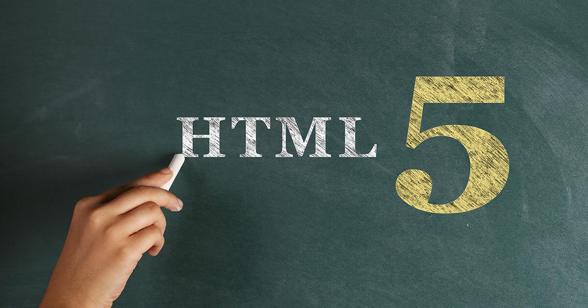 Définition de la technologie HTML5