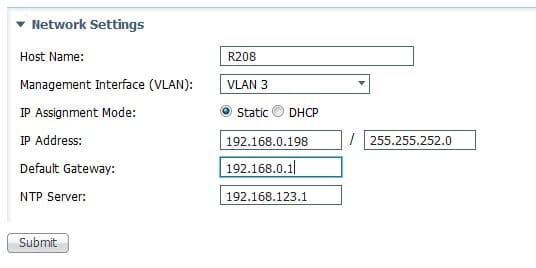 Sélectionner le vlan de management sur le switch Cisco Industrial Ethernet IE-1000