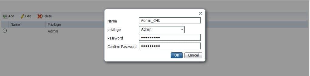 Créer un utilisateur sur le switch Cisco Industrial Ethernet IE-1000