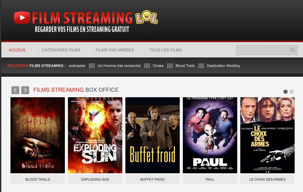 Regardez en streaming des films gratuitement sur filmstreaminglol. Vivez votre passion du streaming gratuitement et avec la meilleure qualité possible !