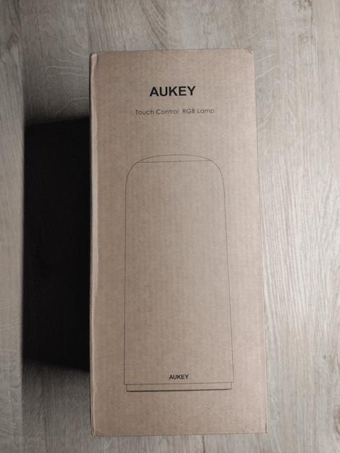 Déballage de la lampe ambiance Aukey