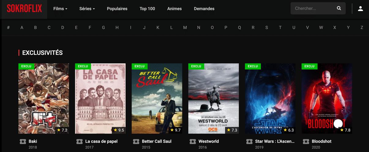 Regardez en streaming des séries et des films gratuits sur SOHROFLIX. Vivez votre passion du streaming gratuitement et de la meilleure qualité possible !