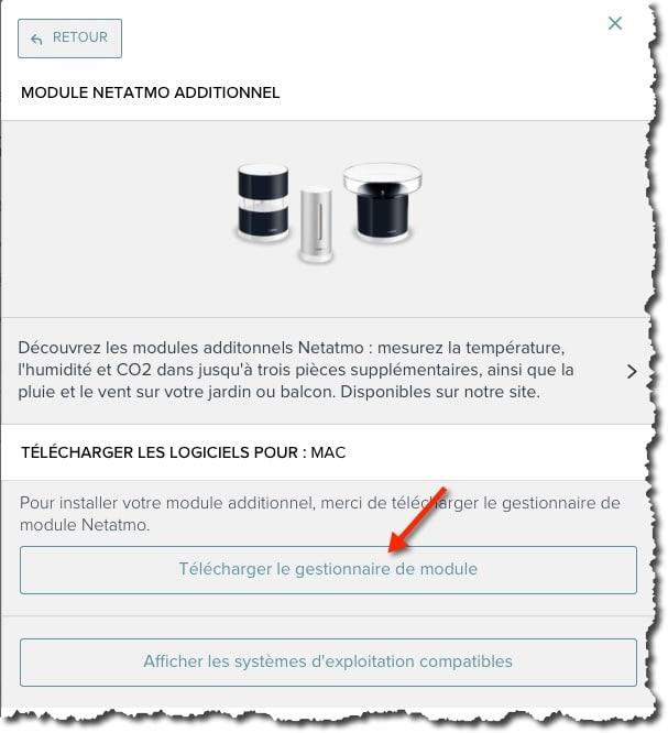 Ajouter le module pluviomètre Netatmo à votre Station météo