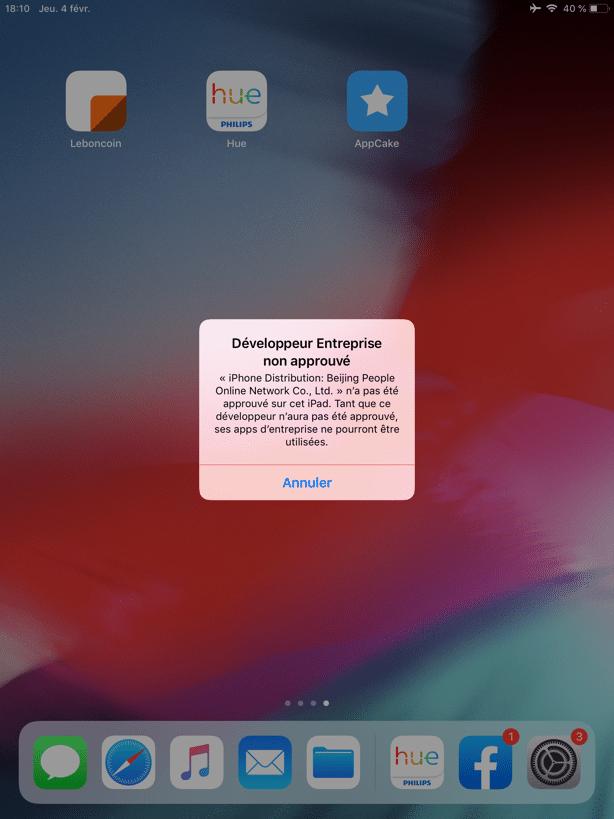 Comment installer AppCake