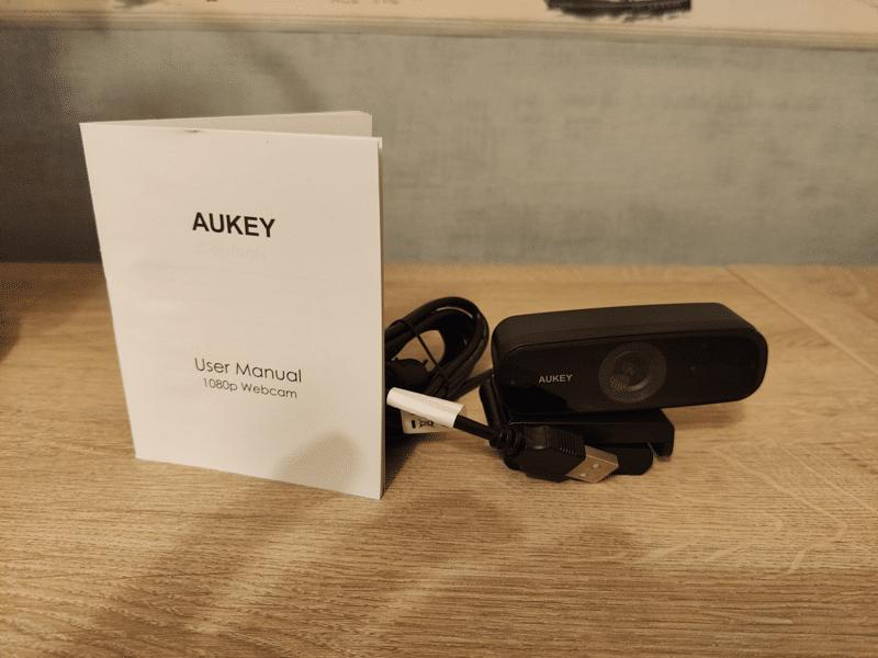 Caractéristiques de la Webcam Aukey 1080p full HD