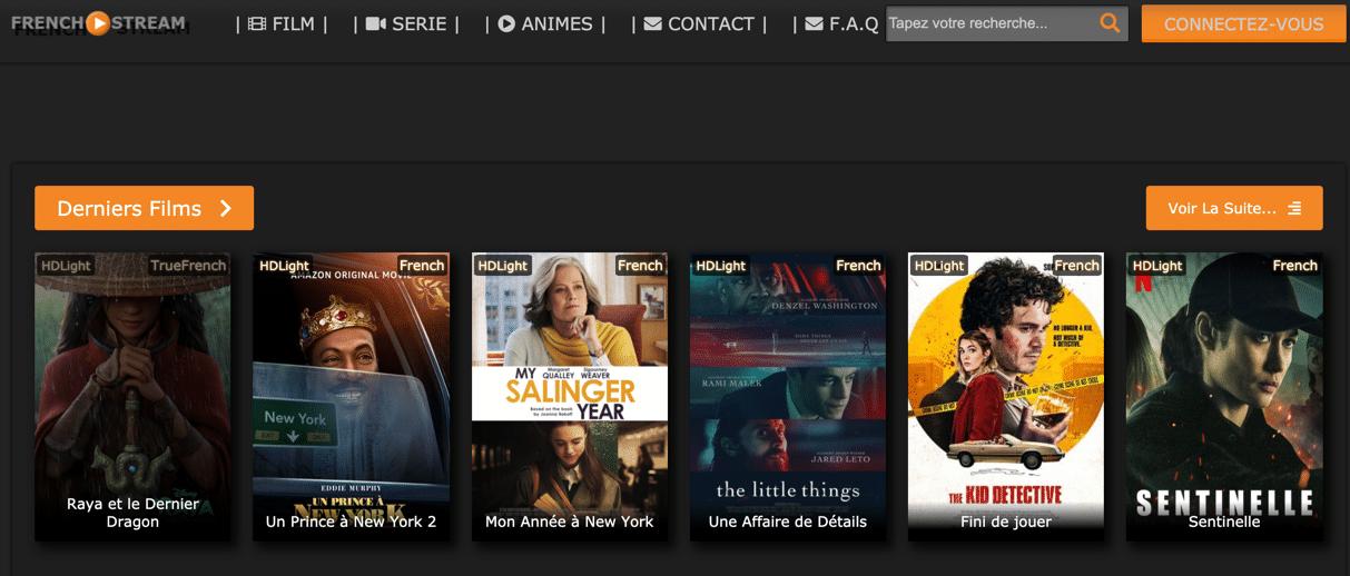 Regardez en streaming des films gratuitement sur French Stream. Vivez votre passion du streaming gratuitement, sans lien mort.