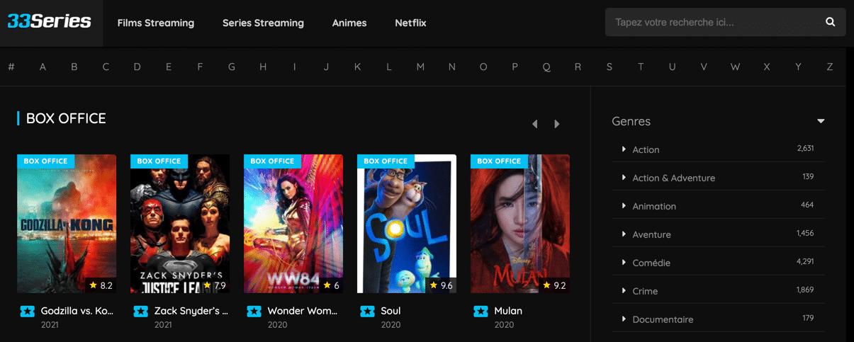 Regardez en streaming et téléchargez des séries gratuites sur 33Series. Vivez votre passion du streaming gratuitement et de la meilleure qualité possible !
