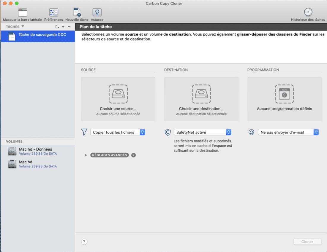 Sauvegarder vos données avant de remettre son iMac à zéro.