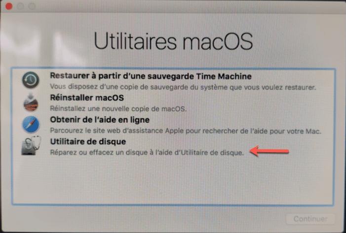 Effacer le disque dur de votre iMac