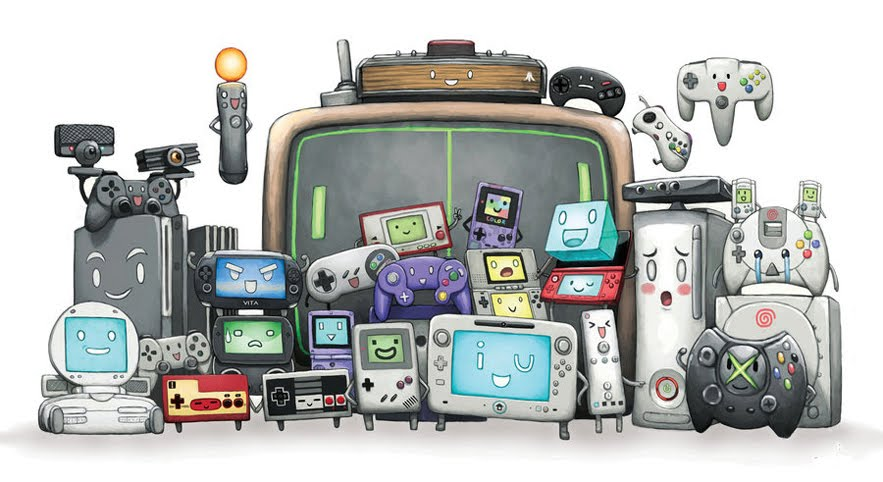 La console de jeux vidéo est devenu un accessoire indispensable de nos jours!