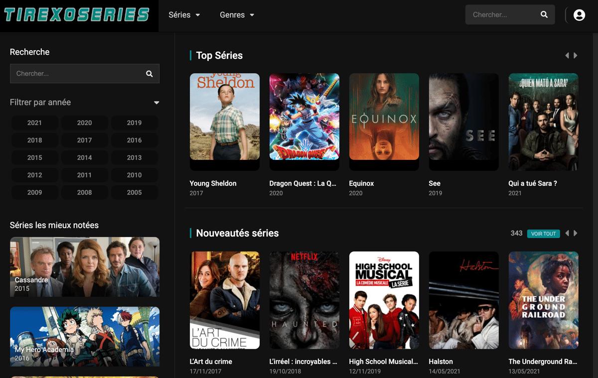 Regarder une panoplie de séries en streaming VF et VOSTFR HD avec la possibilité de télécharger l'épisode sur 1fichier sans inscription nécessaire sur le site
