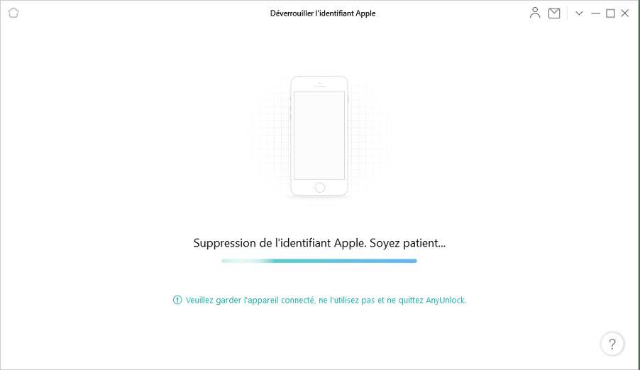 Supprimer un identifiant Apple sans mot de passe