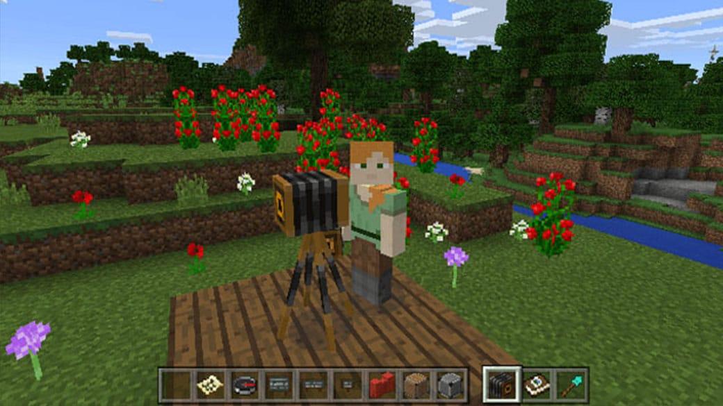 Débuter l'aventure Minecraft