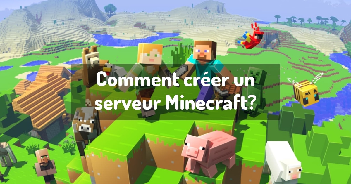 Créer votre propre serveur Minecraft
