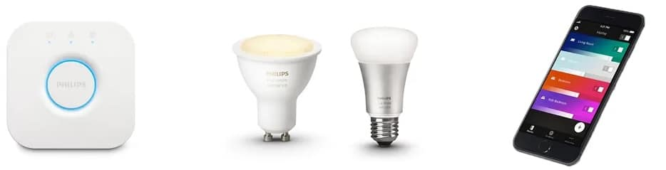 le pack Philips HUE White Ambiance