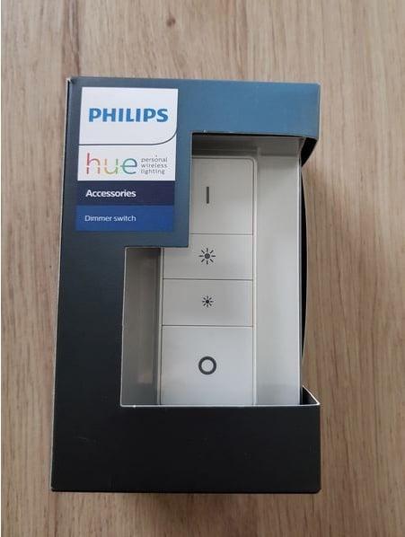 Paramétrage de l'interrupteur Philips Hue Dim Switch.