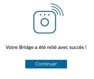 Ajouter un bridge HUE à votre installation