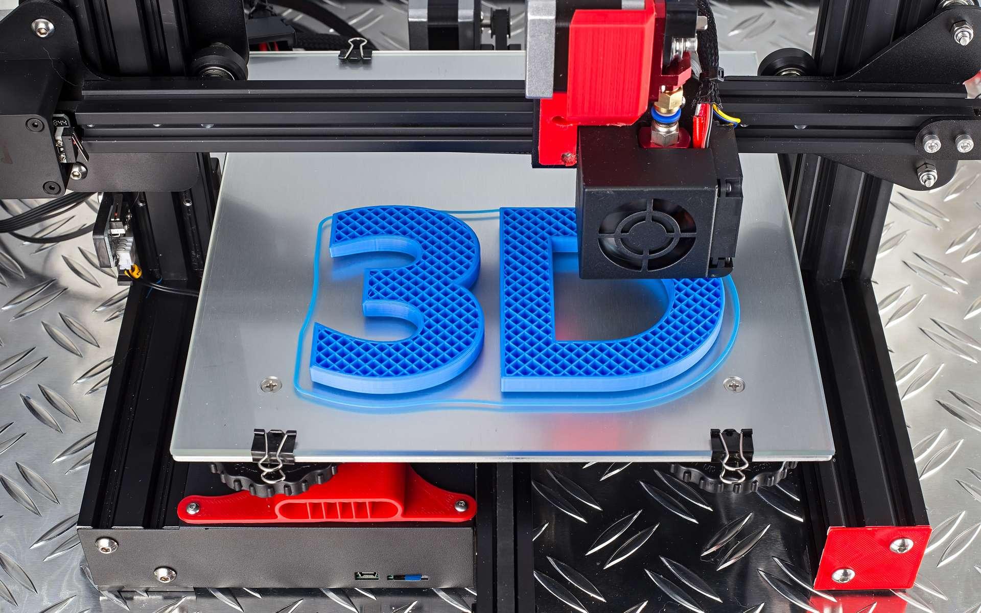 La mise en service de l'imprimante 3D