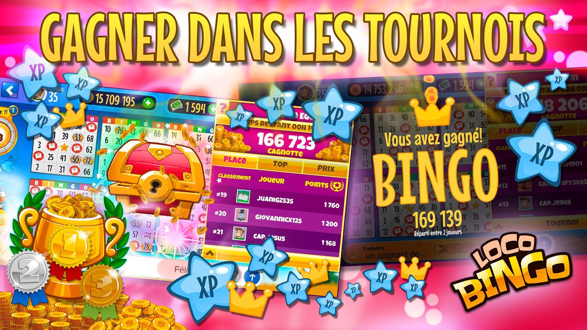 Présentation de l'application Loto Bingo Live