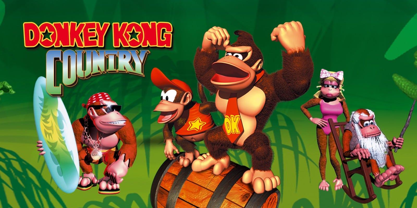 jeux-vidéo Donkey Kong Country
