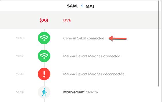 Ajouter votre caméra Netatmo Welcome dans l'interface d'administration Web