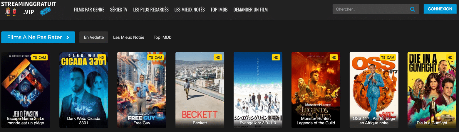 Regardez en streaming et téléchargez des séries et des films sur StreamingGratuit. Vivez votre passion du streaming gratuitement et de la meilleure qualité possible !