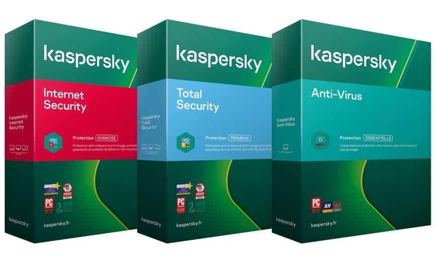 Kaspersky est une autre référence des antivirus