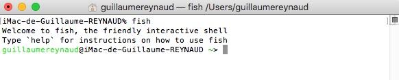 Commencer avec Fish-Shell
