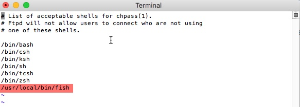 Changer son Shell par défaut sous Mac