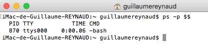 Connaitre le Shell que l'on utilise par défaut sous Mac